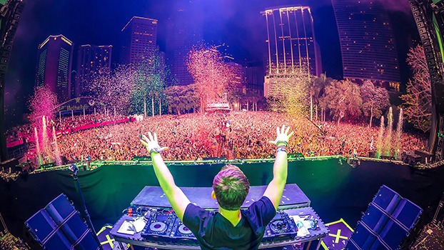 EDM, Electro house & Big room house from Tomorrowland +more