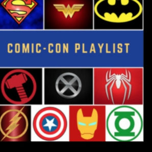 Comic-Con Superhero Playlist