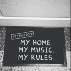 Home Home. My Music. My Rules.