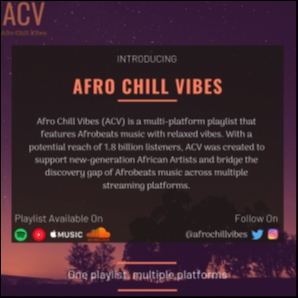Afro Chill Vibes