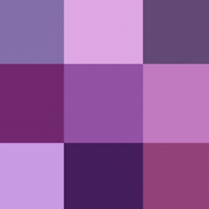 all purple