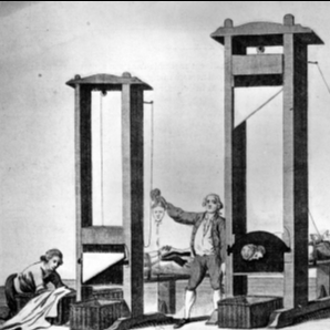 Guillotine for the bourgeoisie
